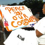 Residents, 1000 strong take part in a unity march Saturday in Lafayette.