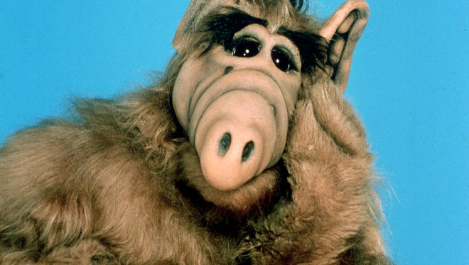 Alf, from the 1980's NBC series.