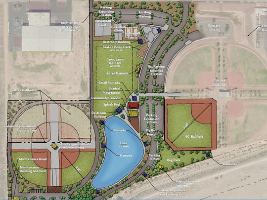 New upgrades are coming for Festival Fields park as the city spends $10 million in the upcoming fiscal year.