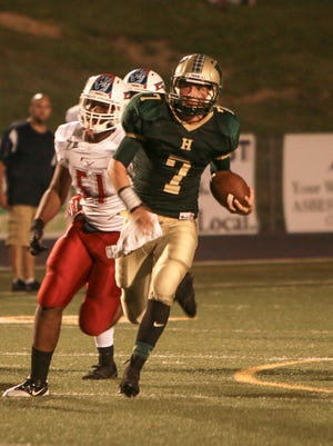 Quarterback Ryan Brennan will lead Howell into a first-round state playoff game Saturday at Detroit Catholic Central.
