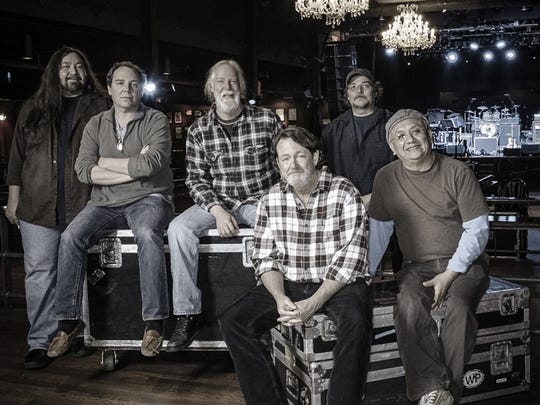 The Athens, Ga., band Widespread Panic perform on the