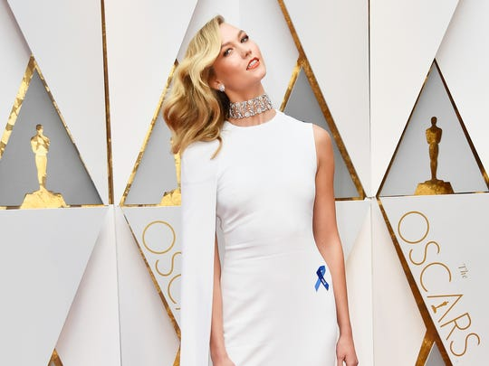 Model Karlie Kloss attends the 89th Annual Academy
