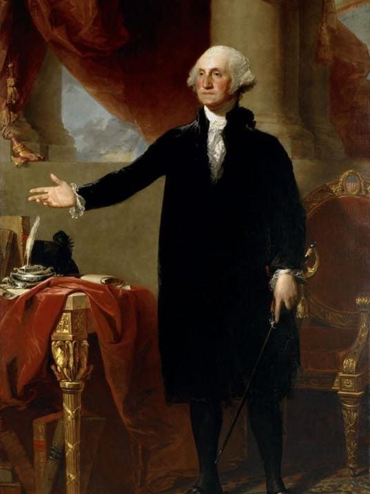 US Art George Washington Portrait