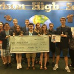 DECA students help a wish come true