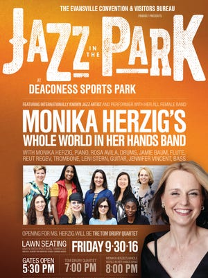 Jazz in the Park is this Friday at Deaconess Sports Park