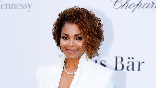 Singer Janet Jackson arrives at amfAR Cinema Against AIDS benefit at the Hotel du Cap-Eden-Roc during the 66th international film festival in Cap d'Antibes, France. Janet Jackson is releasing her first album in seven years this fall. The pop icon said on her website Wednesday, June 3, 2015, that the album, not yet titled, will be released on her own label, Rhythm Nation Records, via Bertelsmann Music Group.