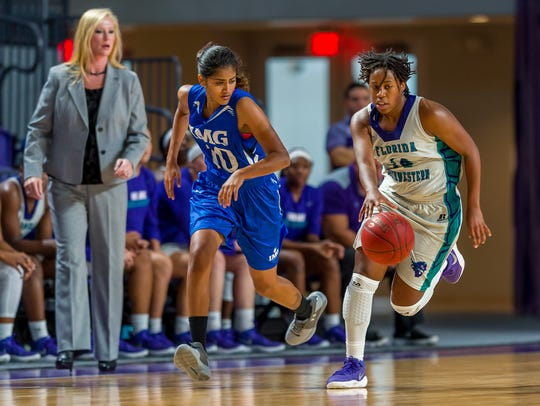 FSW sophomore guard LaToya Ashman had some D-I interest