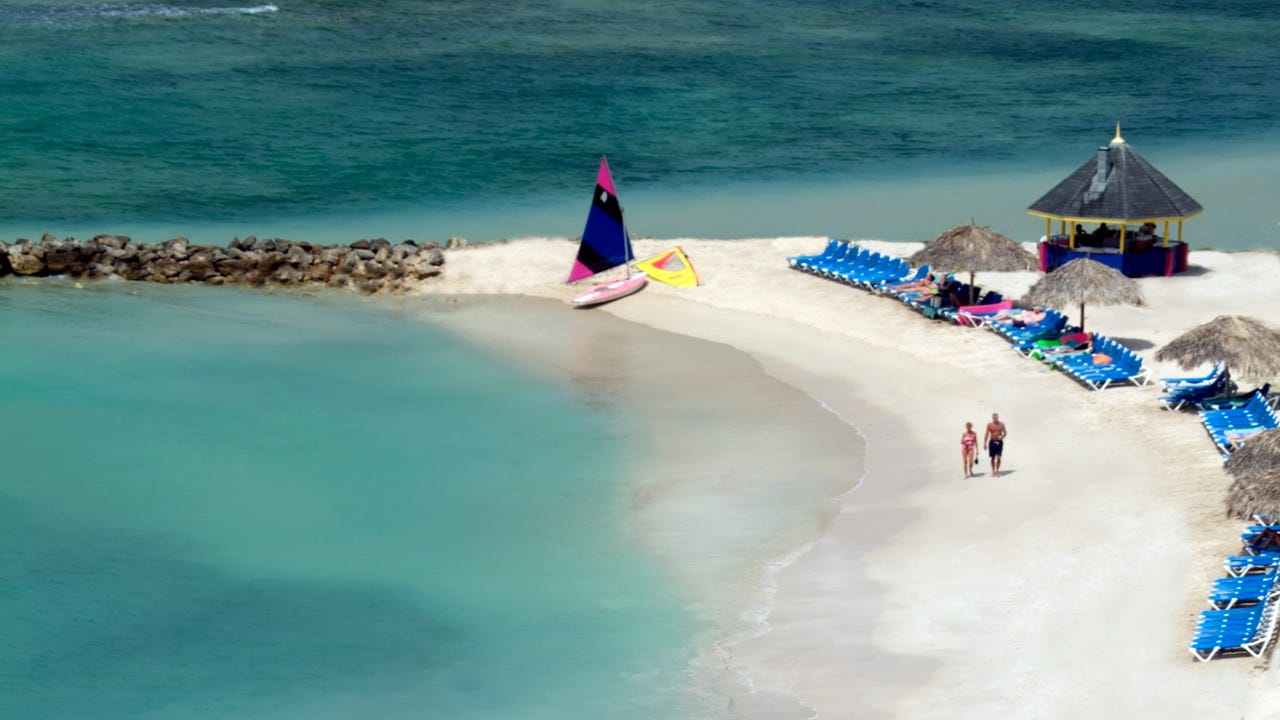 Montego Bay is the centerpiece of tourism in Jamaica.