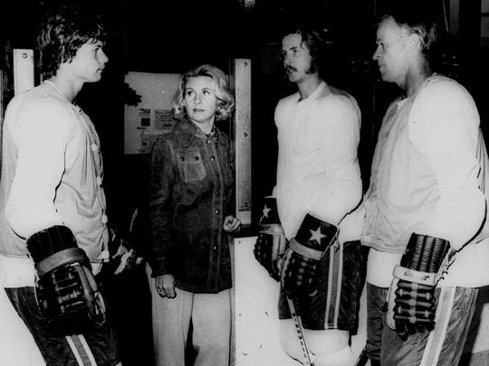Colleen Howe managed the hockey careers of her sons, Marty and Mark, and her husband, Gordie.