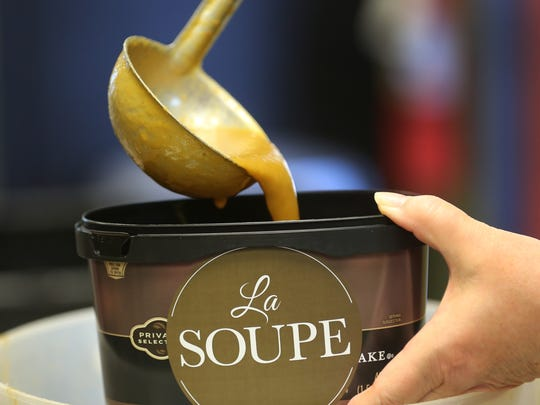 La Soupe is a non profit organization aimed at feeding food-insecure families, primarily through soup. About 1,600 pints of soup are donated each week to schools. The soup is frozen in donated ice cream containers.