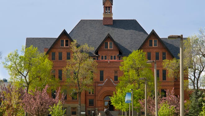 Montana Hall seen on the campus of Montana State University in Bozeman, May 17, 2012.