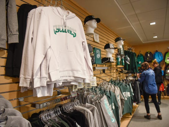 School logo items are available for sale at St. Cloud