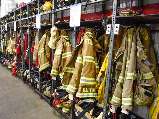Fire Gear Washer ~ Firefighters fight another danger cancer