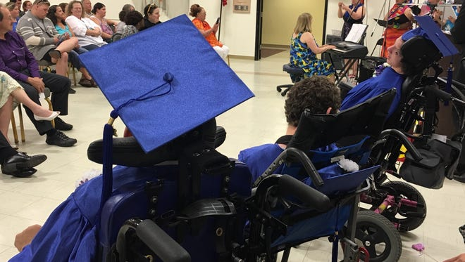 Picollo School, the district's on segregated school for children with disabilities had its graduation ceremony on June 7, 2016