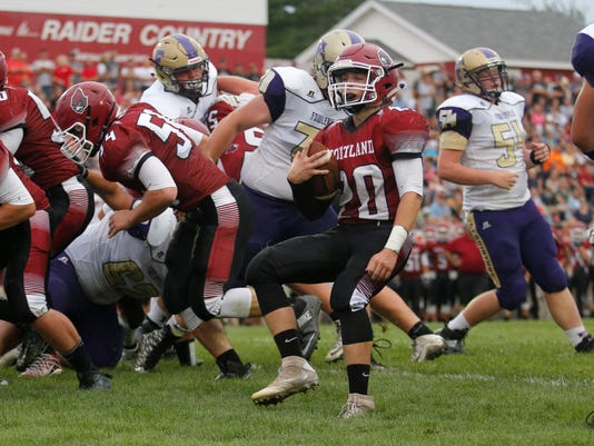 Fowlerville at Portland Football