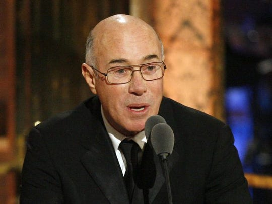 Producer and entertainment executive David Geffen, shown here during his 2010 induction into the Rock and Roll Hall of Fame, has donated more than $450 million to his alma mater, UCLA.