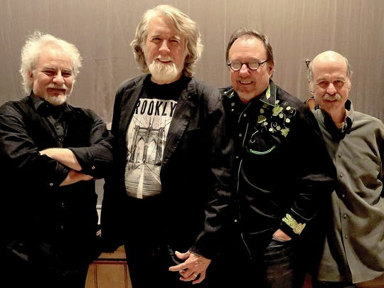 John McEuen (second from left) and Friends (from left, Matt Cartsonis, John Cable and Les Thompson.