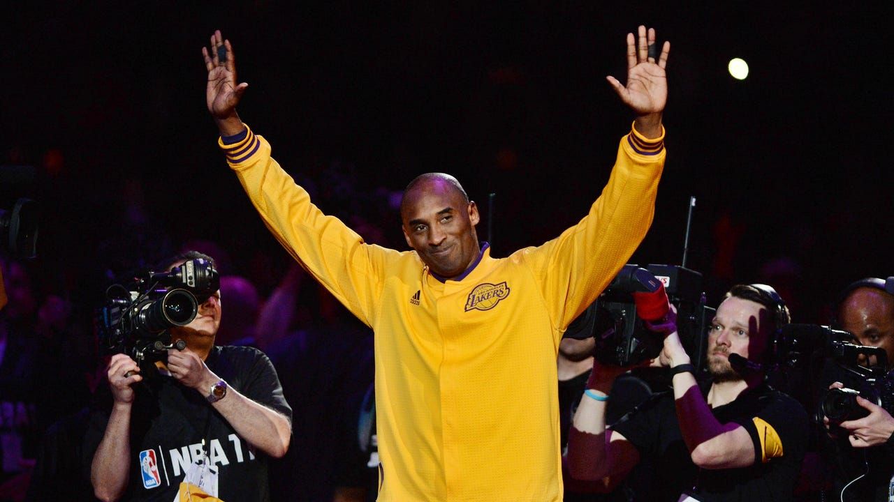 By The Numbers A Fond Farewell To Kobe Bryant
