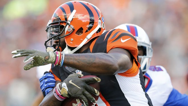 The Cincinnati Bengals have brought wide receiver Brandon LaFell back on a two-year deal.