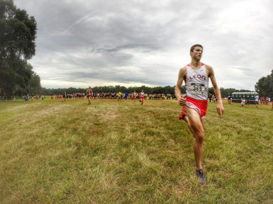 Leon senior Adam Wallenfelsz is taking the lead role for the Lions' cross country team following the graduation of Sukhi Khosla. Wallenfelsz won the Cougar XC Challenge.