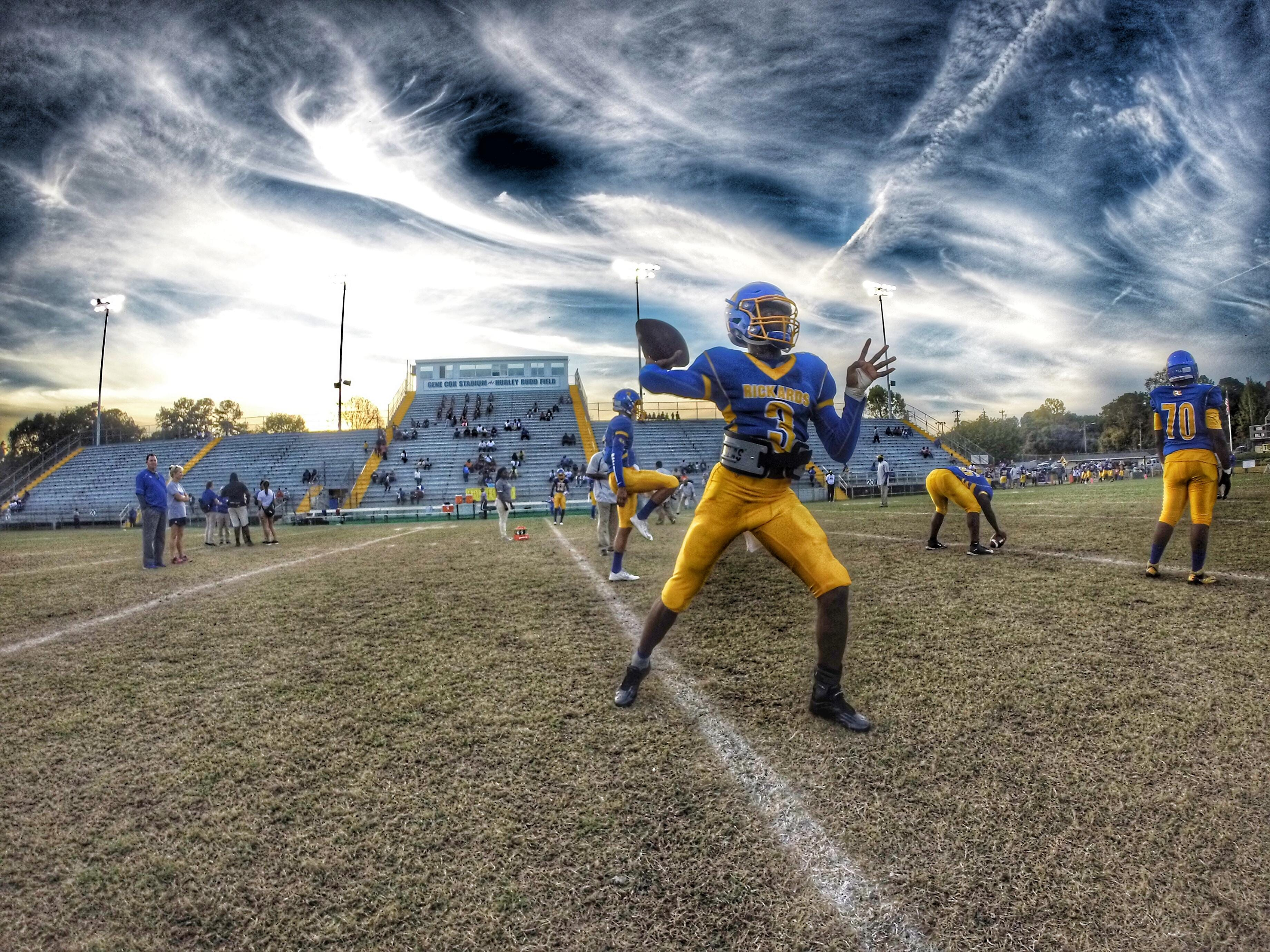 Rickards quarterback Marcus Riley will lead the No. 2 Raiders (7-2) into a first-round playoff game at West Florida Tech (6-4).