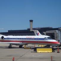 This file photo from July 11, 2009, shows a Embraer 145 regional jet for American Airlines' affiliate American Eagle is seen at Chicago O'Hare International Airport.