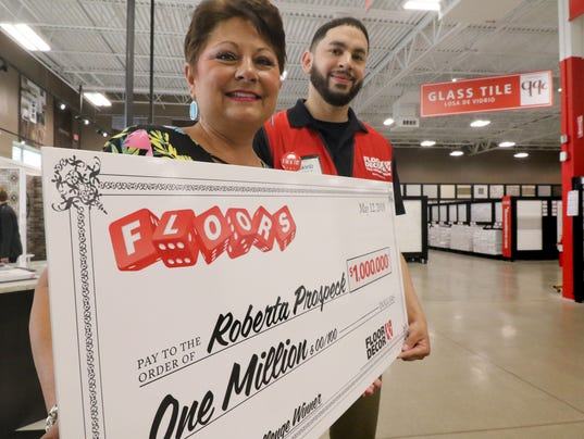 Prospeck wins $1 million with the roll of dice
