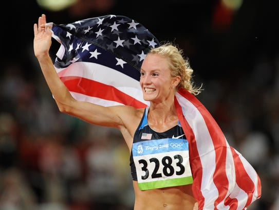 At the 2008 Olympic Games in Beijing, Shalane Flanagan