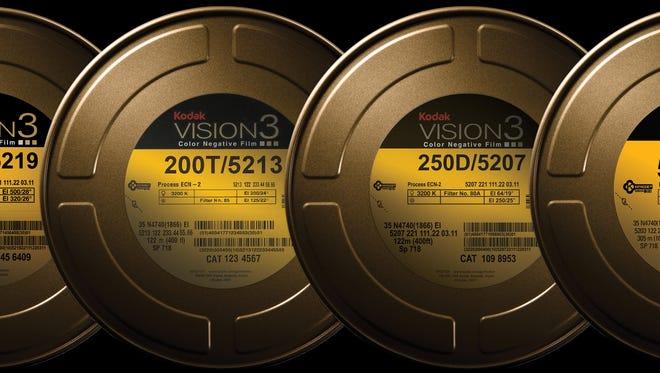 Kodak motion picture film.