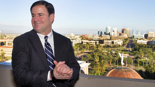 Midway through his first term, Arizona Gov. Doug Ducey has scored some wins. But his flashiest pledges are yet to be fulfilled.