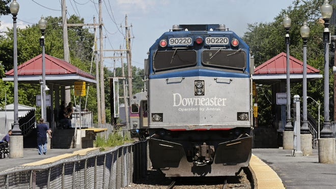 The Amtrak Downeaster will begin operating four round-trip trains between Brunswick, Maine, and Boston every day starting Monday.