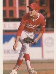Tim Leger, shown here pitching for the Acadiana High-based