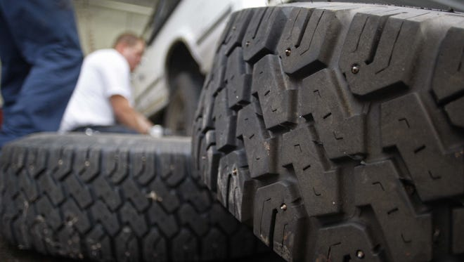 Studded tire season arrives in Oregon November 1st.