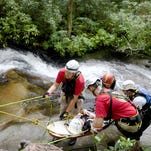Waterfall rescues in Western North Carolina also dangerous for rescuers