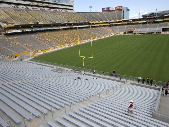 Sun Devil Stadium is in the midst of a $256 million