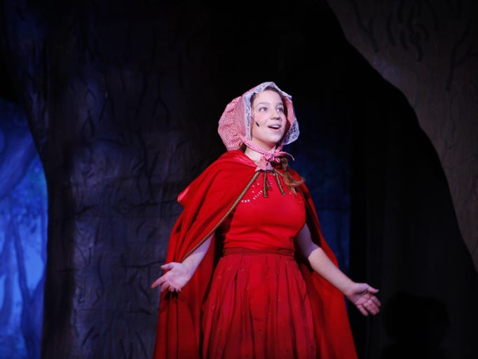 Bria McClain plays Little Red Riding Hood as Rye Neck