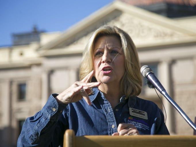Sherri Collins, Executive Director of the Arizona Commission