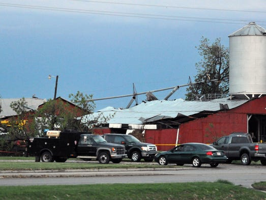 Storms Come Back Haunt Parts Of Indiana