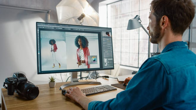 GIMP, Pixlr and Canva are free alternatives for photo editing.