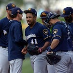 Game report: Junior Guerra roughed up in ugly outing against A's