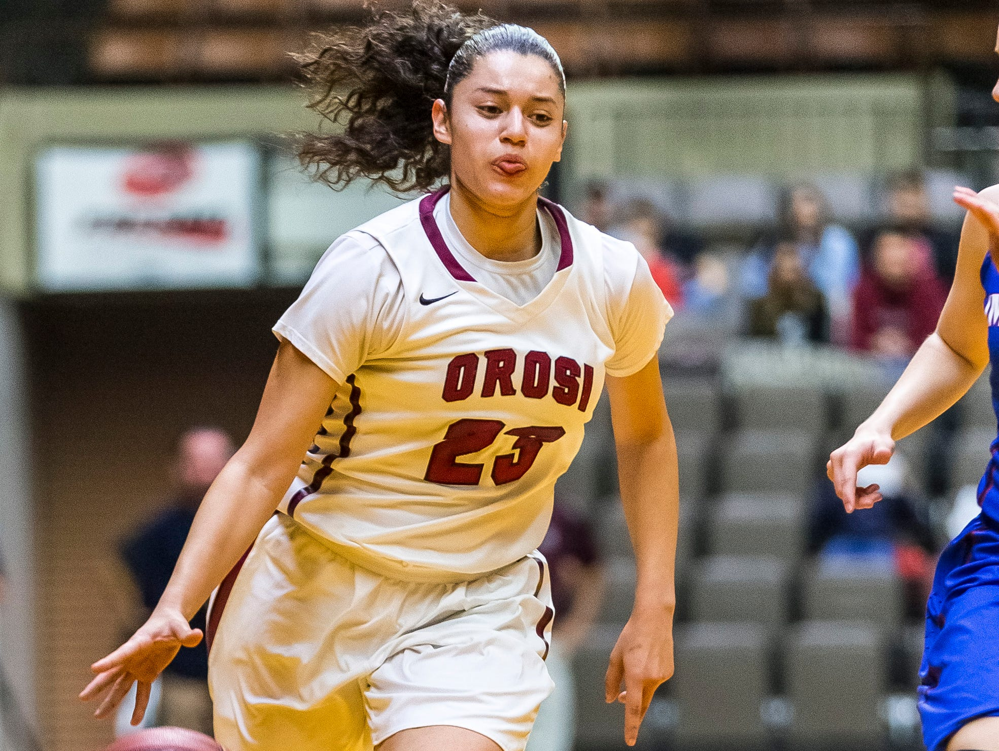 East Sierra League most valuable player Cassidy Rodriguez was a 2014-15 Times-Delta/Advance-Register all-Tulare County girls basketball first-team selection.