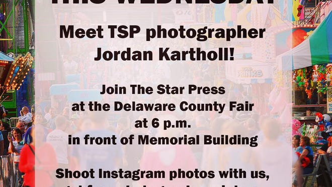 Join The Star Press Wednesday night