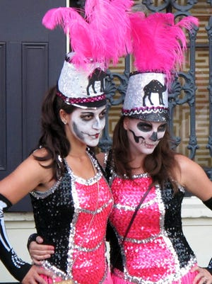 People who don't pay to ride Krewe of Boo, the city-sanctioned Halloween parade, might march the three-mile route.