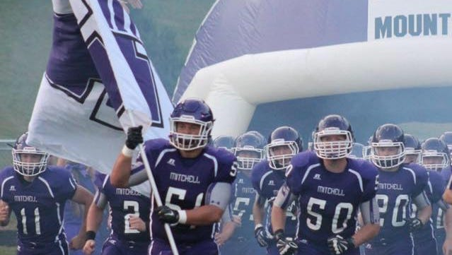Mitchell's football team is ninth in the latest NCPreps.com 1-A state rankings.