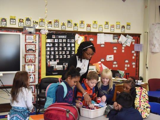 Da Vetta Price, a Beacon City School District elementary