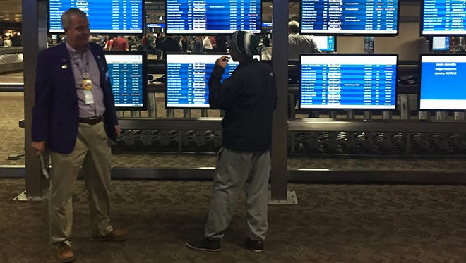 Navigator Steve Brumm says baggage claim can be the most confusing part of the airport experience for travelers as many are coordinating transportation needs while trying to find their baggage.