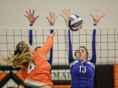 BWAC Volleyball: Croswell-Lexington's Devyn Gordon honored among conference's best