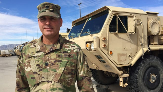 Lt. Col. Jeff Kutter is the commander of the 47th Brigade Support Battalion with 2nd Armored Brigade.