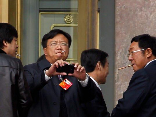 china smokig