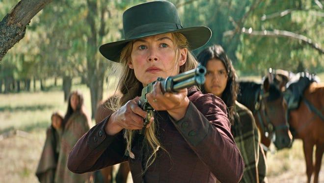 """Rosamund Pike stars in """"Hostiles."""""""
